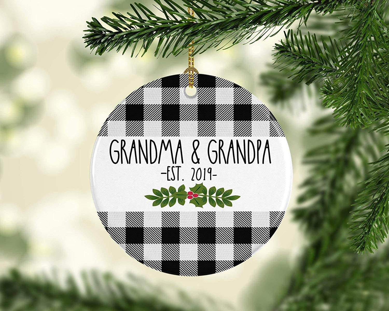 Pregnancy Ornament Pregnancy Announcement Ornament New Grandma Ornament Pregnancy Ornament Grandparents Christmas Pregnancy Announcement
