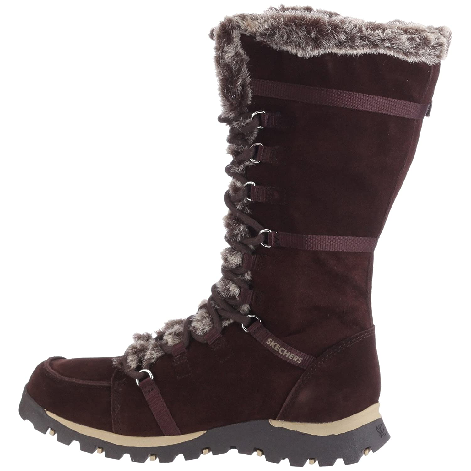 Skechers Women's Grand Jams Unlimited Boot B000H0ZYEK 10 B(M) US|Brown