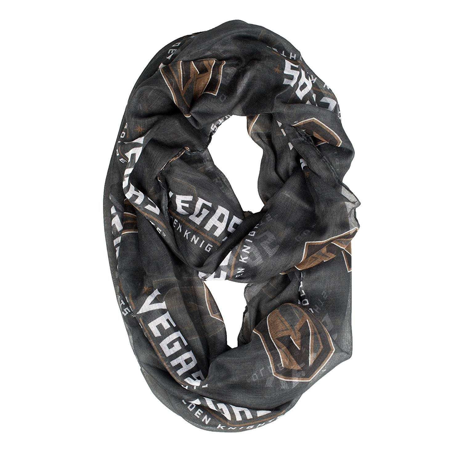 Littlearth Vegas Golden Knights Scarf Sheer Infinity