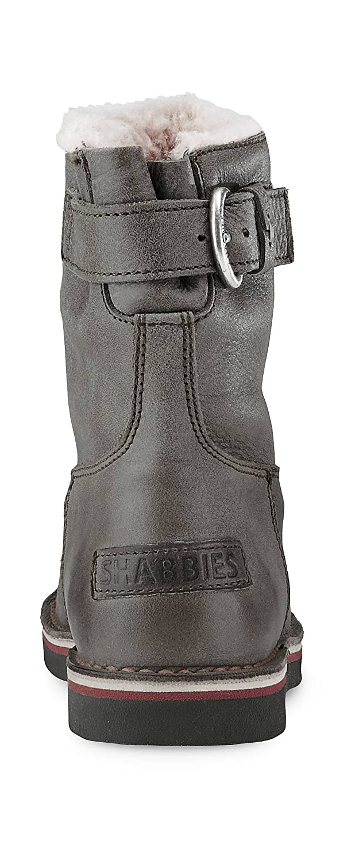 aa7b580bd312ef Shabbies Amsterdam Women s 202056w004459 Boots Grey grau-Hell   Amazon.co.uk  Shoes   Bags