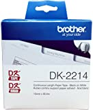 """Brother DK-2214 Continuous Paper Label Roll (100 Feet12"""" Wide)"""