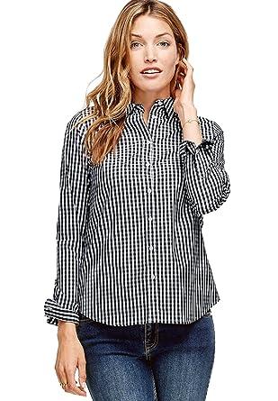 f19b410f Ellos Women's Plus Size Button Down Shirt at Amazon Women's Clothing ...