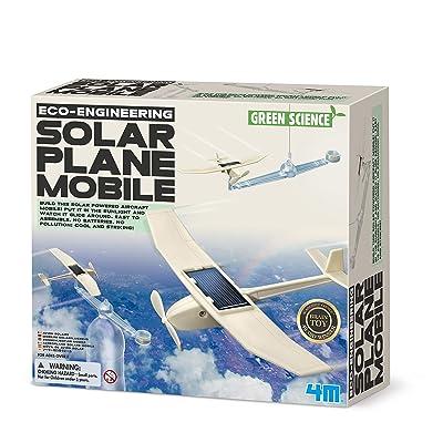4M- Solar Plane Mobile Ingenieria (00-03376): Juguetes y juegos