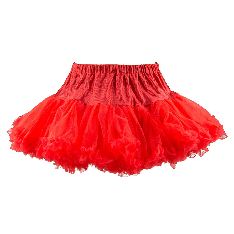 Hell Bunny Petticoat Micro Tutu Red