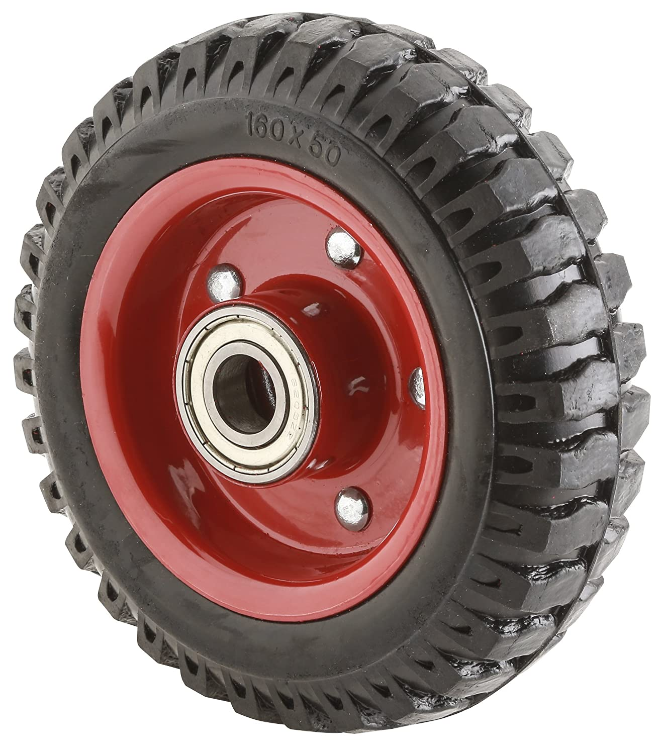 Steelex D2647 6 1 4 Inch Single Wheel with Double Bearing