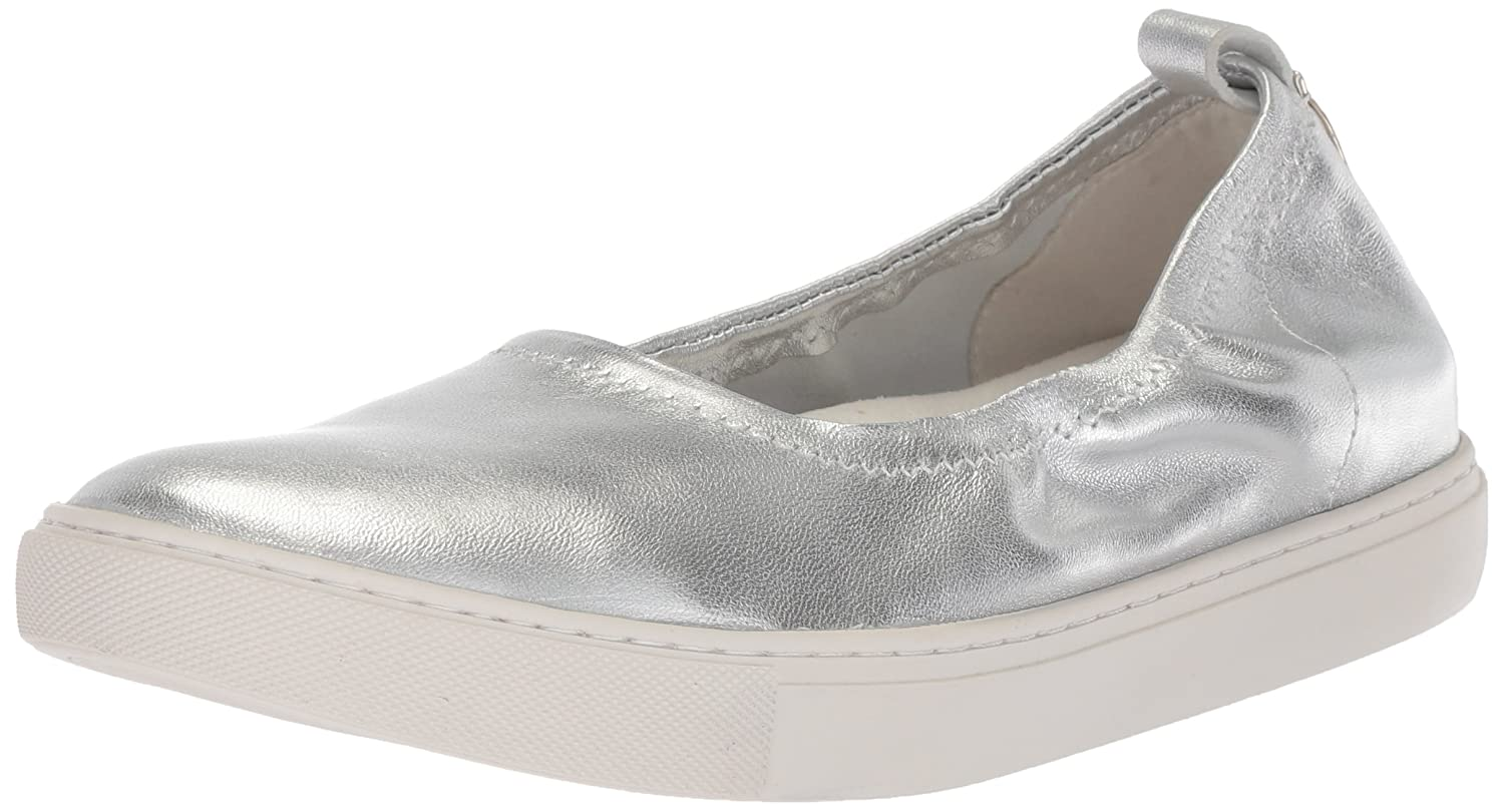 Kenneth Cole New York Women's Kam Ballet Flat Stretch Sneaker B078BRP6SF 7 B(M) US|Silver
