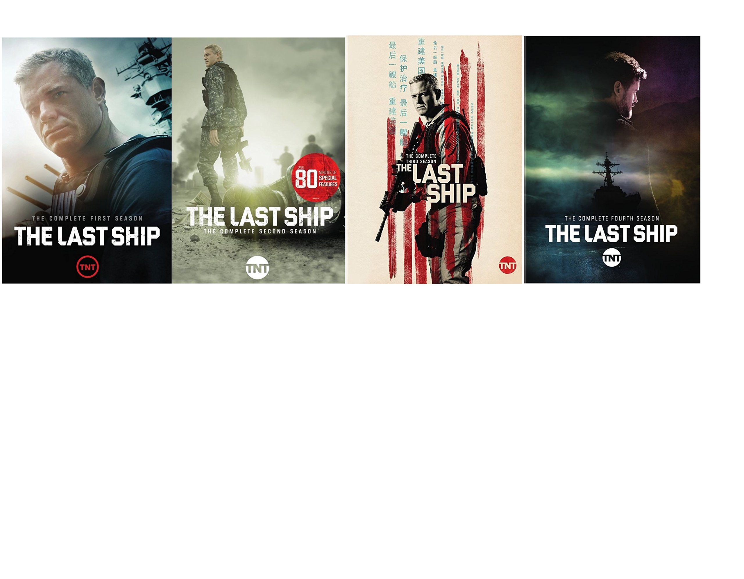 The Last Ship: Complete Seasons 1-4 DVD by GF STUDIO
