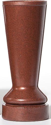 Replacement Cemetery Flower Vase Terra Cotta Granite Theft Deterrent ForeverSafe Marker Vase By Granger Plastics