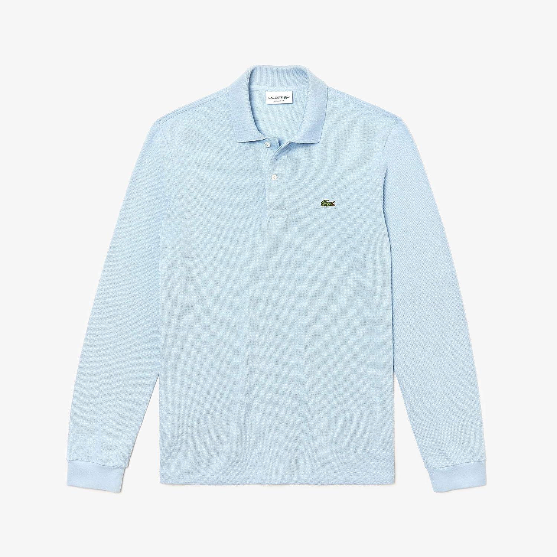 Bleu (Brise B9y) grand  Lacoste - L1312 - T-shirt - Homme