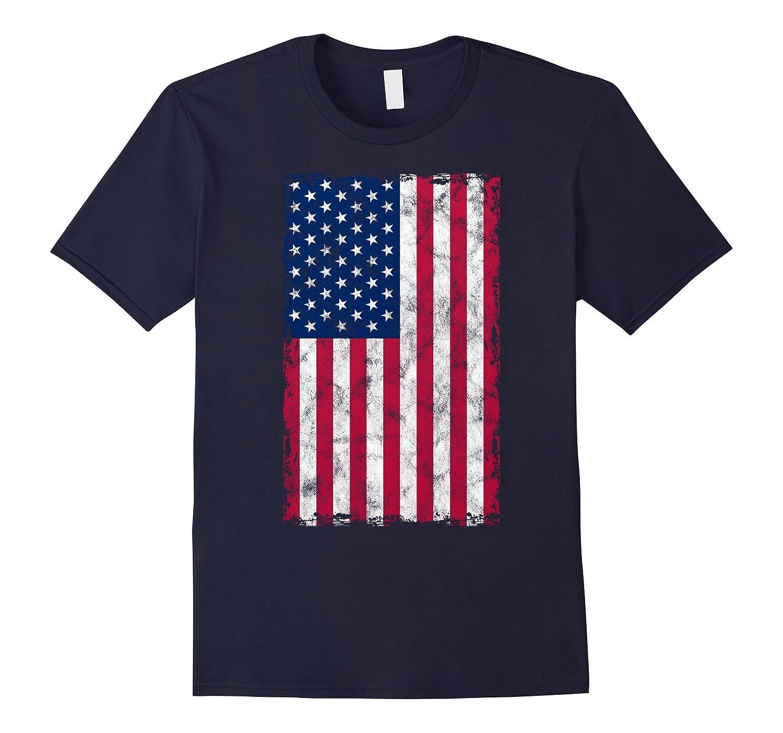 Cool Distressed Flag Shirt 4th of July Boys Girls Men Women-PL