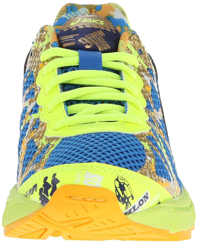 ASICS GEL Noosa 9 GS Gold Ribbon Running Shoe (Little Kid/Big Kid)