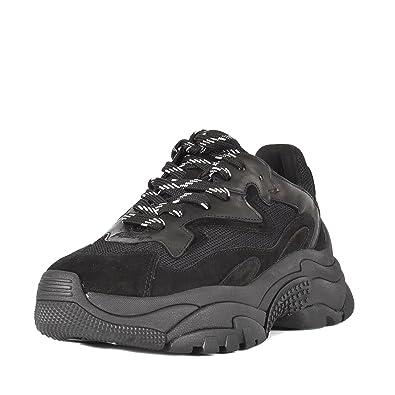 73fcd9782fb Ash Chaussures Addict Baskets Noir Femme  Amazon.fr  Chaussures et Sacs