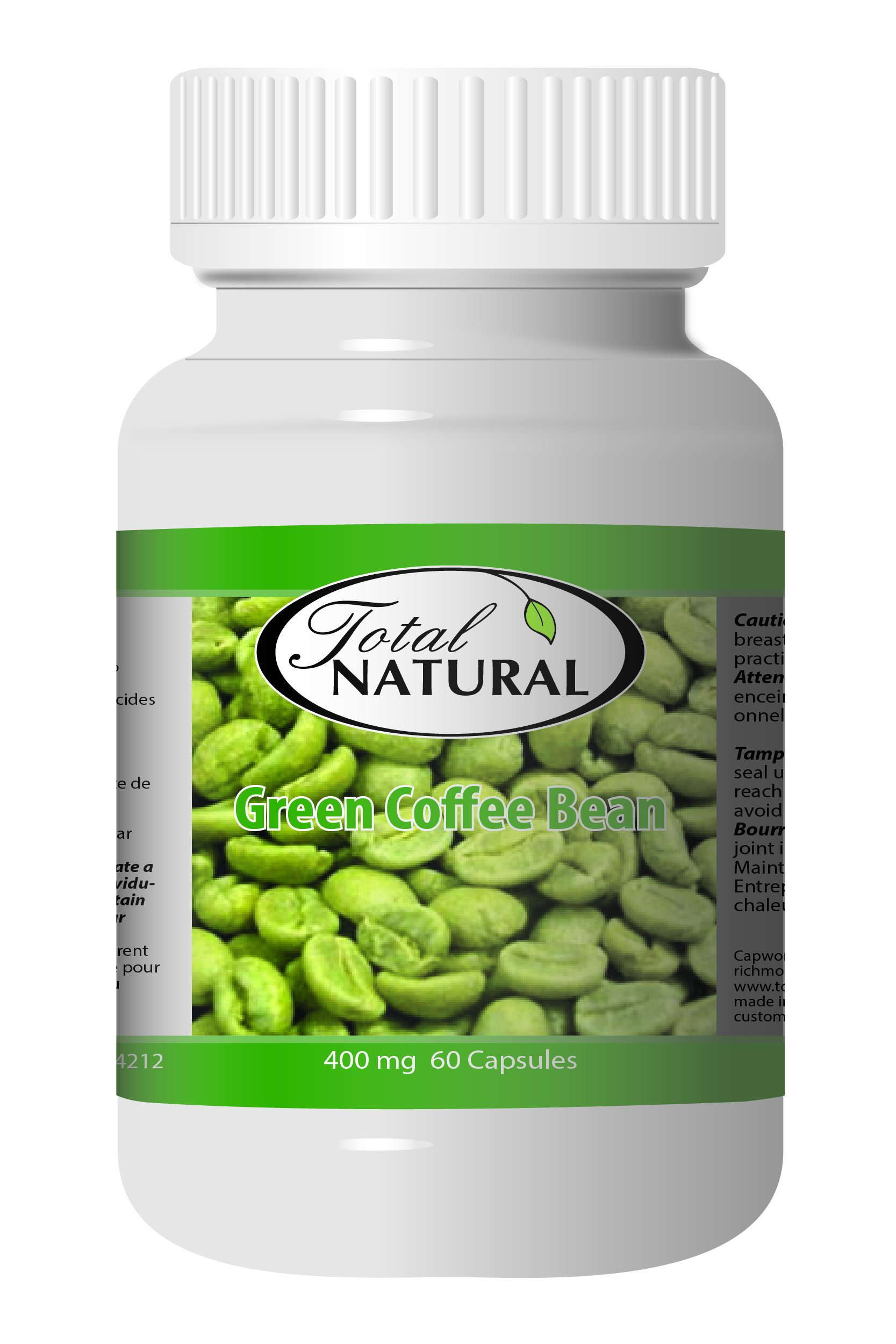 Green Coffee Bean 400mg 60c - [12 bottles] Diet And Energy Formulas