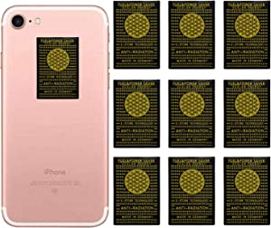 10 Pack - Anti EMF Radiation Protection Shield Sticker, Radiation Neutralizer Shield Blocker, EMF Radiation Protection Device for Cell Phone, Laptop and All Electronic Devices-EMF Protection Products
