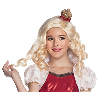 Rubies Ever After High Child Apple White Wig with Headpiece: Toys & Games