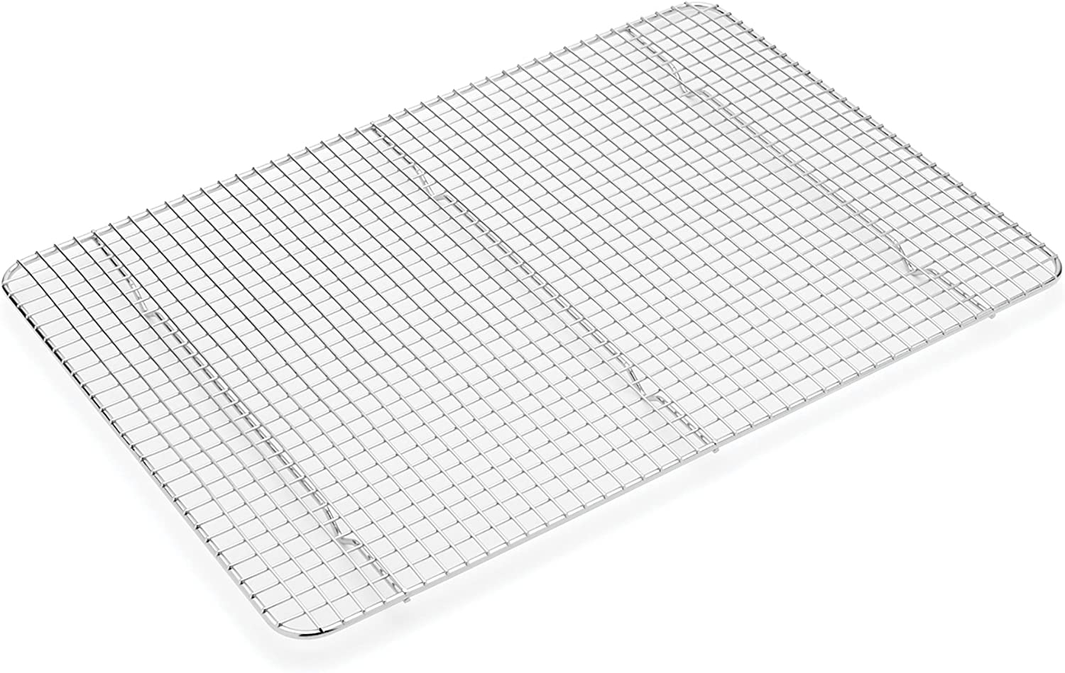 Fox Run 11695 Stainless Steel Cooling Rack, 12 x 17 x 1 inches, Metallic