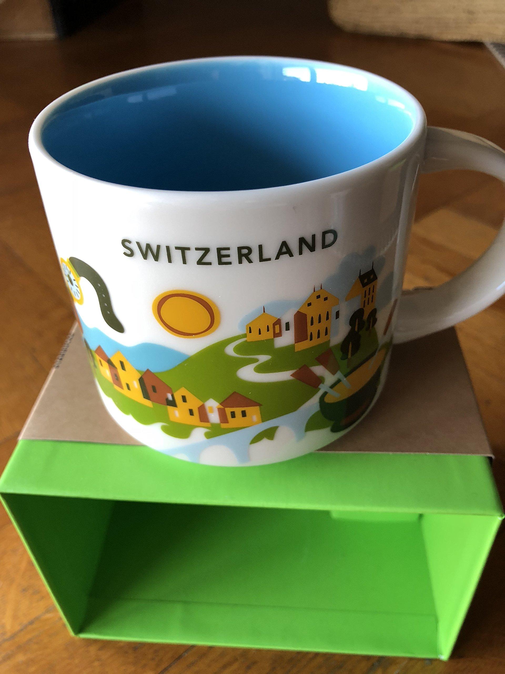Starbucks 'You Are Here' YAH City Mug – Switzerland Swiss