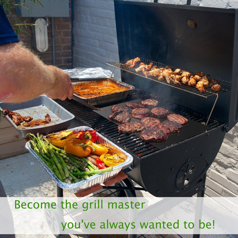 Bbq Grill Matte Set Von 5 Non Stick Ofen Liner Teflon Kochen