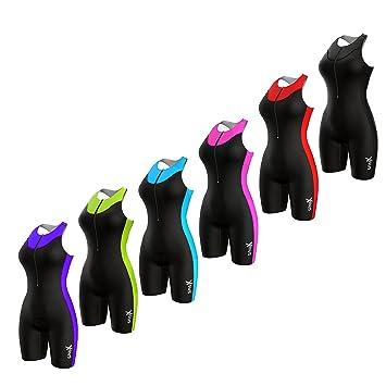 Amazon.com: Sparx - Traje de triatlón para mujer: Sports ...