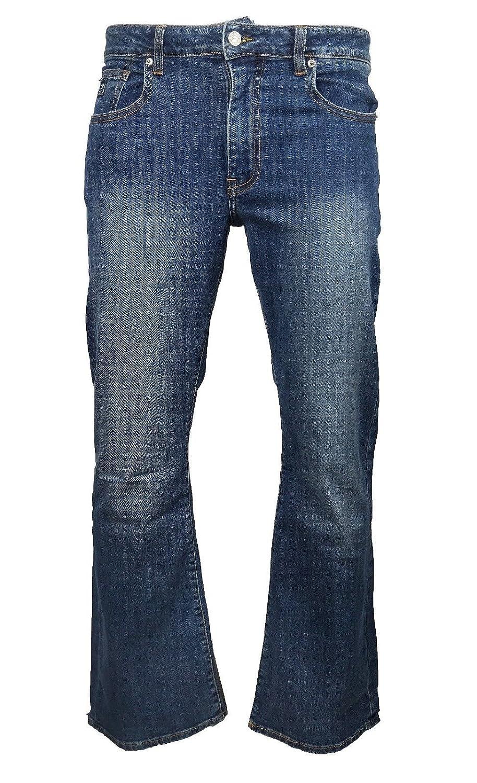 7958c56da48f2 LCJ Denim Men s Flare Stretch Indie Jeans 70s Acid Bell Bottoms LC16   Amazon.co.uk  Clothing