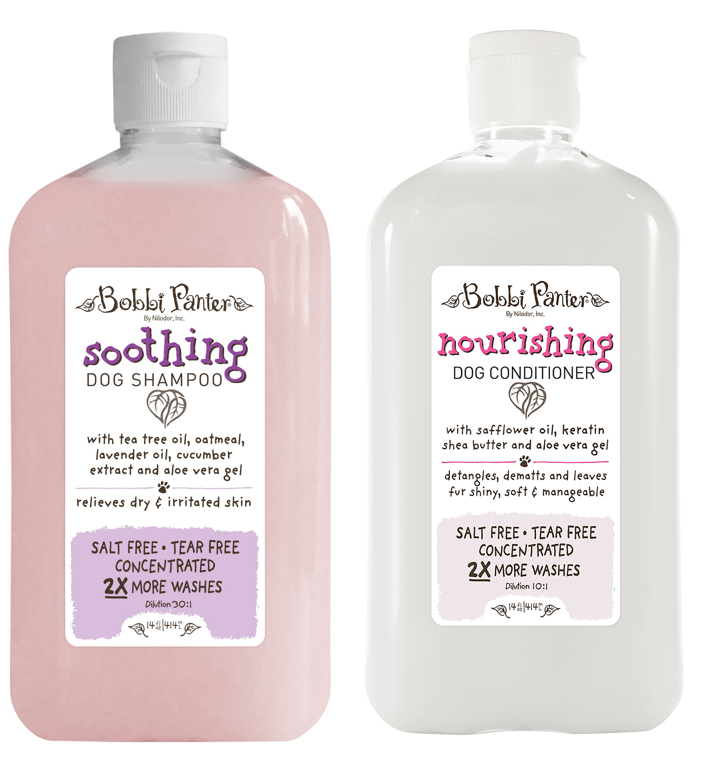 Bobbi Panter Natural Soothing Dog Shampoo and Nourishing Conditioner by Bobbi Panter