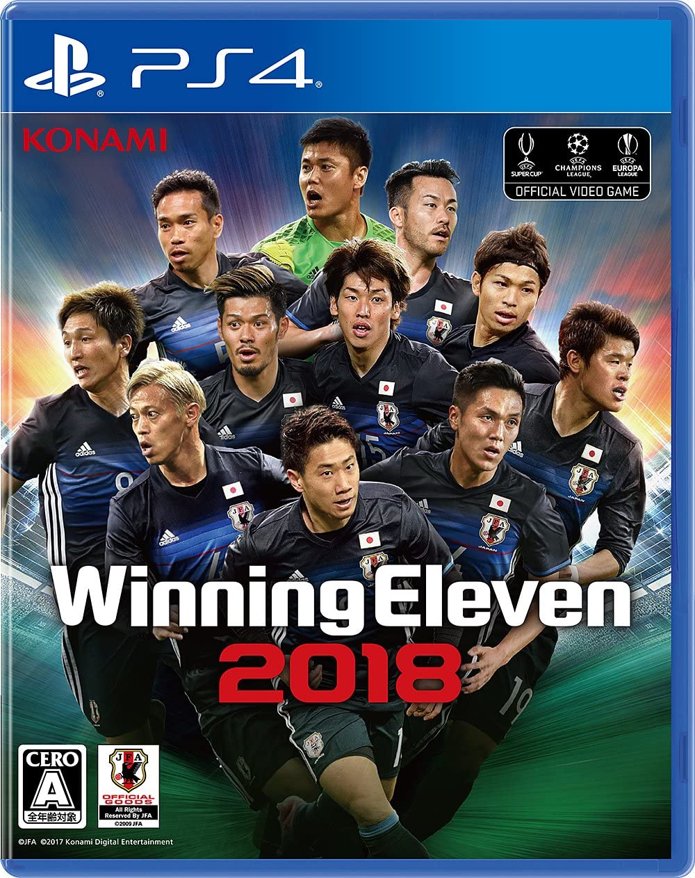 Konami PES Soccer Winning Eleven 2018 SONY PS4 PLAYSTATION 4 JAPANESE VERSION Region Free [video game]: Amazon.es: Videojuegos