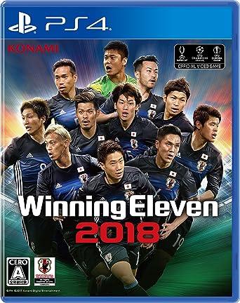 Konami PES Soccer Winning Eleven 2018 SONY PS4 PLAYSTATION 4