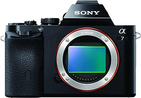 Sony Alpha ILCE-7 - Cámara Evil de 24.3 MP, Full HD, sólo Cuerpo, Negro
