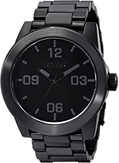 Nixon Corporal SS A346. 100m Water Resistant XL Mens Watch (48mm Watch Face.