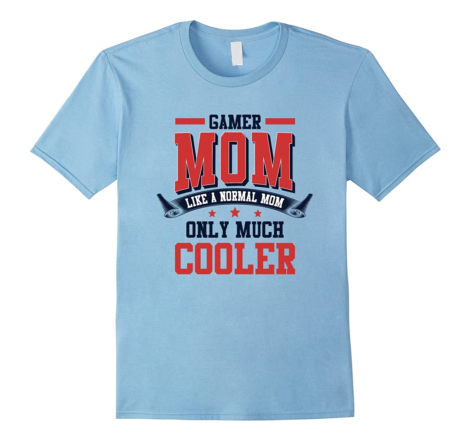Womens Cute Gamers Mom shirt - Mothers Day Gift Edition-PL