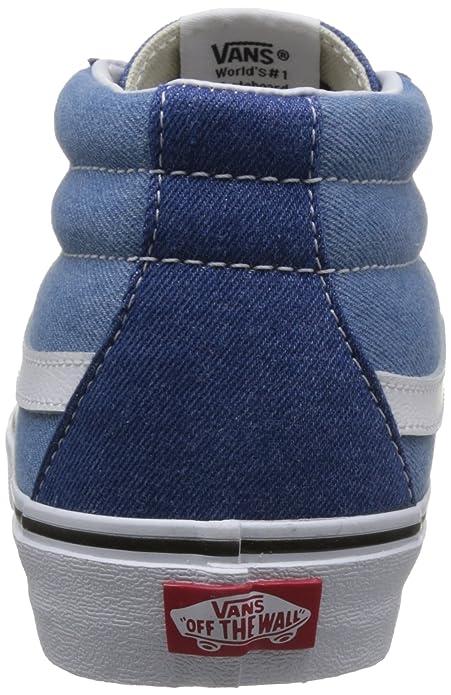 49448cca7f7391 Vans Unisex SK8-Mid Reissue Sneakers  Buy Online at Low Prices in India -  Amazon.in