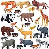 5 x  BIG TOY MODEL ACTION FIGURES ANIMALS Wild Animal  TOYS NEW FREE PP SALE *