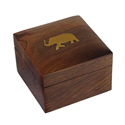 Amazoncom ShalinIndia Indian Elephant Jewelry Box 4 by 275 Inch