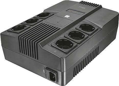 Trust Maxxon Sistema de alimentación ininterrumpida (SAI) de 800 ...