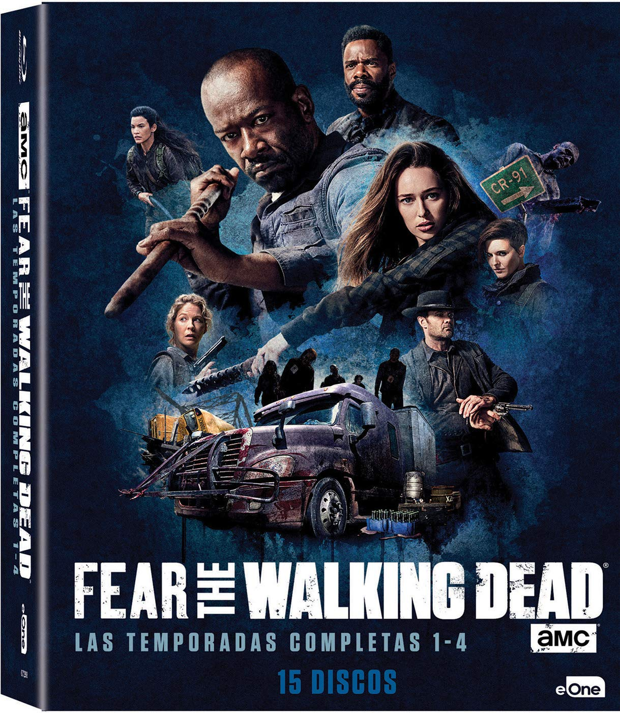 Pack Fear The Walking Dead Temporada 1 - 4 Blu-Ray Blu-ray: Amazon.es: Kim Dickens, Frank Dillane, Cliff Curtis, Dave Erickson, Robert Kirkman, Kim Dickens, Frank Dillane: Cine y Series TV