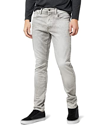 8a5a7336d3c Amazon.com: G-Star Raw Men's 3301 Tapered-Fit Jean in Kamden Grey: Clothing