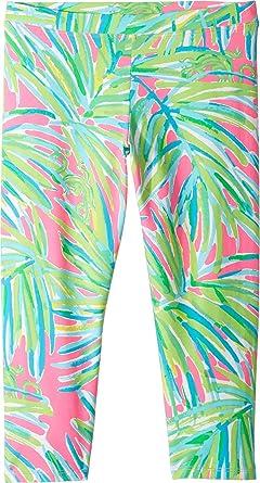 47388f8f60873 Lilly Pulitzer Kids Womens Maia Leggings - Green -: Amazon.co.uk: Clothing