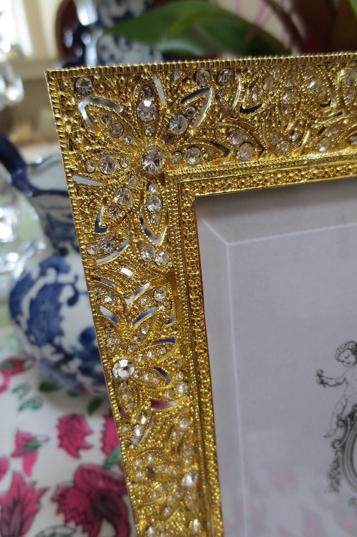 Olivia Riegel Gold Windsor Crystal Photo Frame 5 x 7