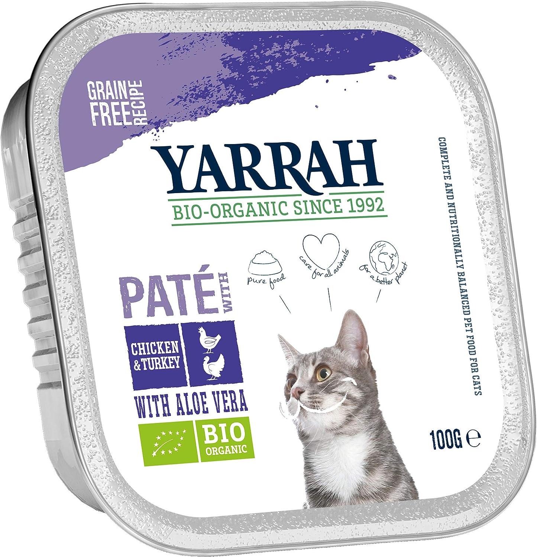 Yarrah Patentado Bio Gato Forro, 16 Unidades (16 x 100 g): Amazon ...