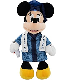 Disney Parks Minnie Mouse 2018 Graduation 9 inch Plush Doll