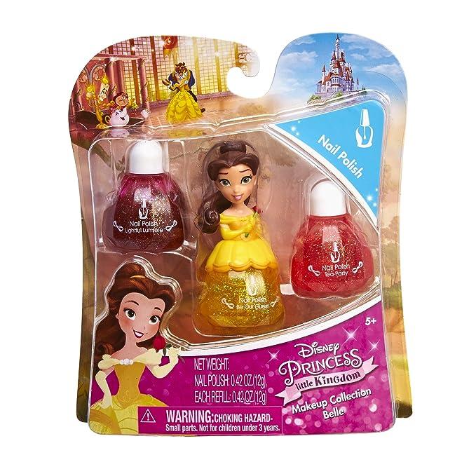 Amazon.com: Disney Princess Little Kingdom Makeup Sets - Belle Nail ...