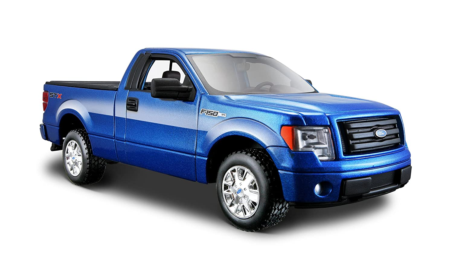 Maisto Special Edition Metallic Blue 2010 Ford F-150 STX Diecast Vehicle (1:24 Scale) 31270-60870063