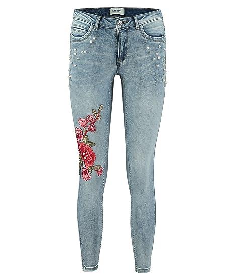 297bbb99d3a1 ONLY Damen Jeans Kendell Reg Sk ANK Dream Skinny Fit  Amazon.de  Bekleidung