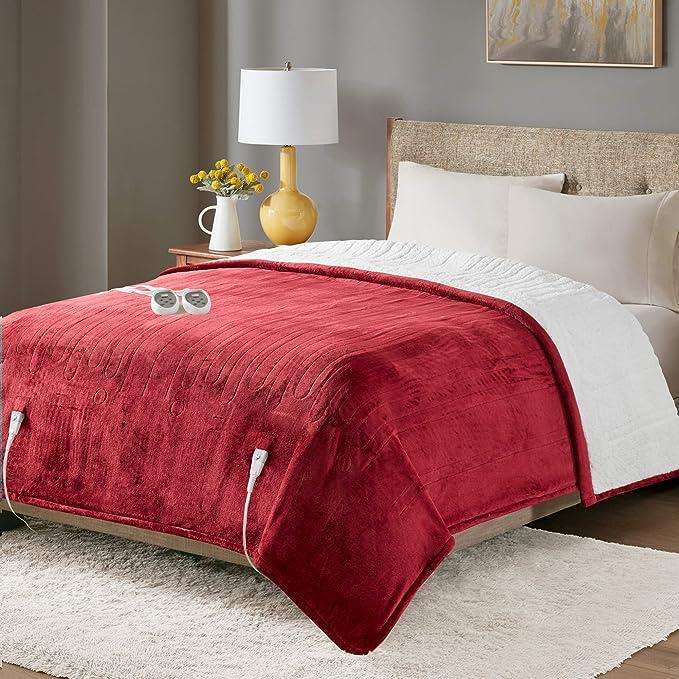 Amazon.com: Degrees of Comfort Sherpa Soft California King