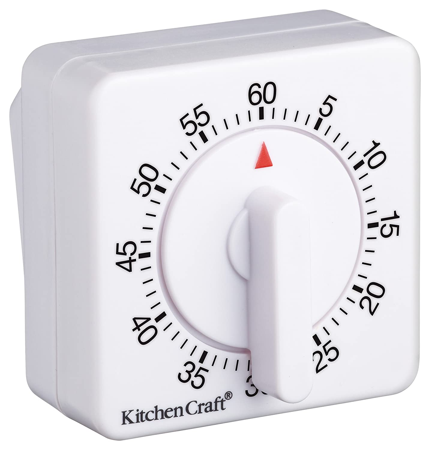 Amazon.com: Deluxe Half Round Wind-up 60 Minute Timer: Kitchen & Dining
