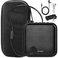 Joyhoop amplificador de voz portátil de 12 W, mini multifunción de 1200 mAh, con 2 micrófonos y bolsa de almacenamiento…