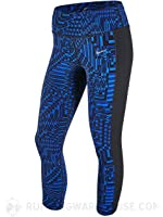Nike Epic Lux Printed Womens Dri-FIT Crop Length Running Tights