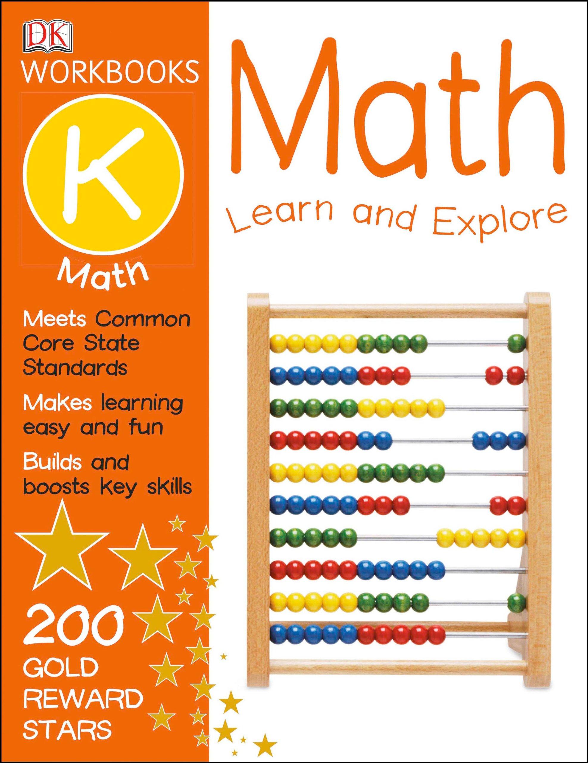 DK Workbooks: Math, Kindergarten: DK Publishing: 0790778017323 ...