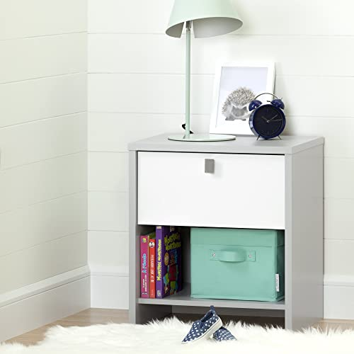 South Shore Cookie 1-Drawer Nightstand