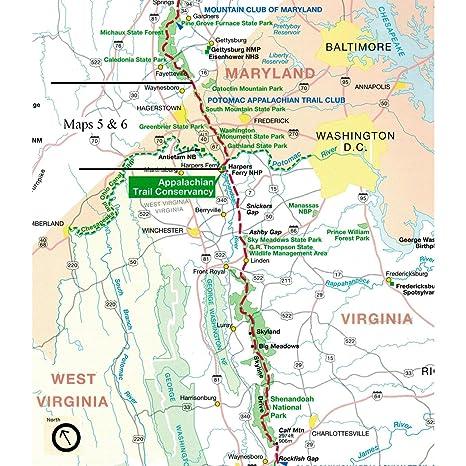 Amazon.com : ATC Maps 5 and 6: Maryland and The Catoctin ...